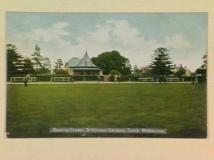 Bowling Green, St. Vincent Gardens, South Melbourne [picture ...