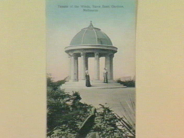 Temple of the Winds, Yarra Bank Gardens, Melbourne [picture] , State ...