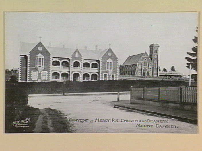 Convent of mercy r c church and deanery mount gambier for Mount mercy library