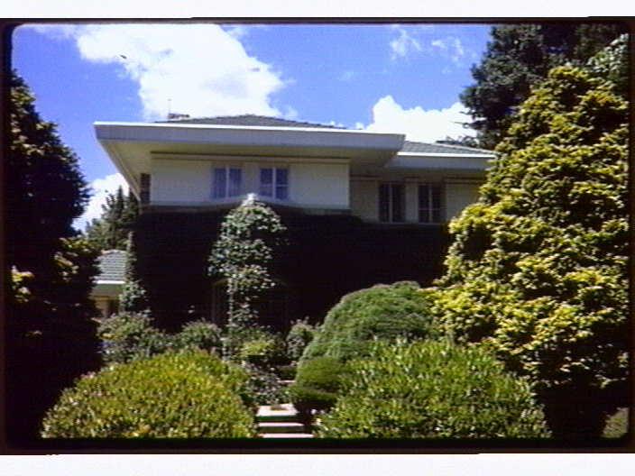 D. A. Pratten House. 100 Mona Vale Road Pymble NSW
