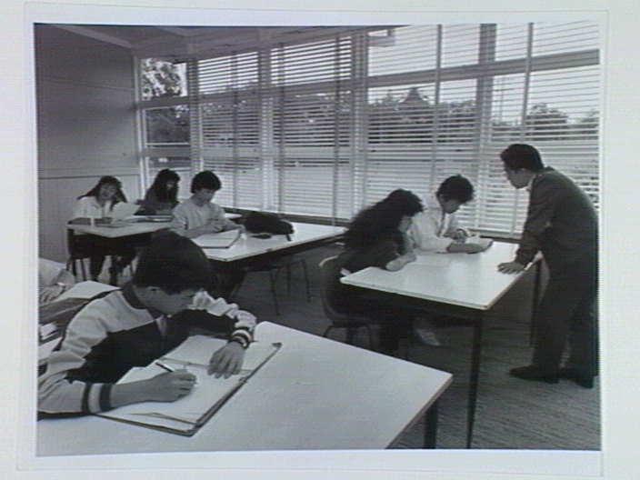 A Vietnamese language class, Richmond Secondary College