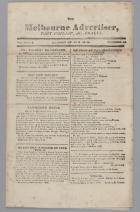 The Melbourne Advertiser, Port Phillip Australia Volume 1 No 14