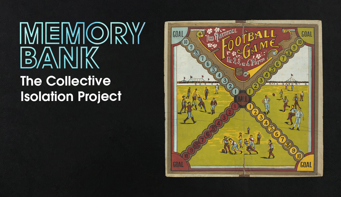 A board game cover shows players on a football field