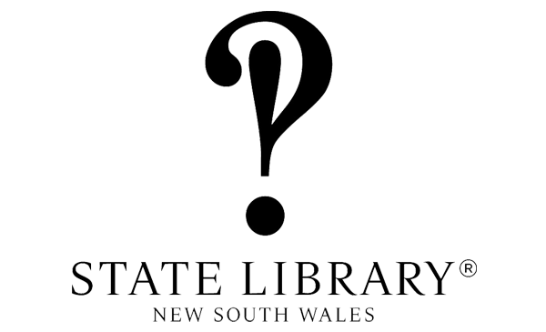 The State Library New South Wales logo in black