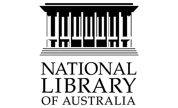 The National Library of Australia logo in black