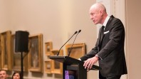 Robert Thomson delivering 2019 Keith Murdoch Oration