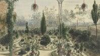 Front garden of Gwyllenhurst, the residence of John Gill Esqu, Melbourne