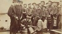 Aboriginal crew member on board the HMVS Victoria, 1861