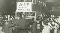 AIF prisoners of war returning to Sydney, 1945