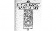 Australian Art Association catalogue, 1925
