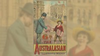 Poster for 'The Australasian', an illustrated weekly; c 1881–90