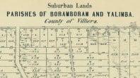 Parish plan of Boramboram, western Victoria