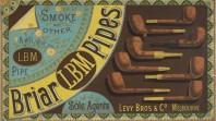 Briar LBM Pipes, 1880s