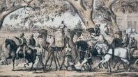 Departure of Burke & Wills, Melbourne, 1861