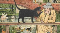 Detail from a 19th-century 'Puss in boots' edition
