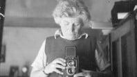 Edna Walling self-portrait