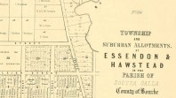 Essendon & Hawstead, in the parish of Doutta Galla