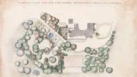 Garden plan for Mrs Theo Beggs, Eurambeen, Beaufort, Victoria, 1937