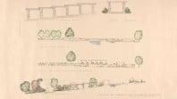 Details of garden plan for Eurambeen, Beaufort, 1937