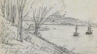 Fishing at Portland Bay, Wedge field book, 1835