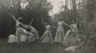 Photograph of garden dancers