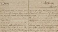 First handwritten 'Melbourne Advertiser', 1838