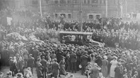 Henry Lawson's funeral, Sydney, 1922