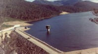 Lake William Hovell, 1971, photo from State Rivers and Water Supply Commission