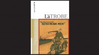 La Trobe Journal No 98 issue featuring WWI soldier and text Send more men
