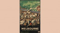 Melbourne promotional poster, James Northfield, 1936