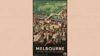 Melbourne promotional poster, James Northfield, 1936