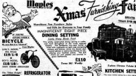 Christmas advertising, 'The Sun', 5 December 1951