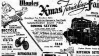 Christmas advertising, 'The Sun', 5 December 1951