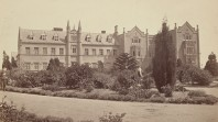 Melbourne Benevolent Asylum, North Melbourne, 1868