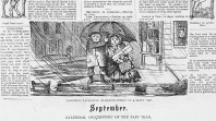 Calendar and history of the past year, 'Melbourne Punch' supplement, January 1856