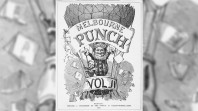 'Melbourne Punch', cover page, 1856