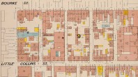 Fire plan, Melbourne, 1888