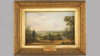 Melbourne from the Botanical Gardens in 1867 by Henry Gritten