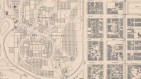 MMBW 400 feet to 1 inch plan [no 7] showing portion of Carlton and Fitzroy, 1897