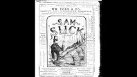 Cover page for 'Sam Slick in Victoria'
