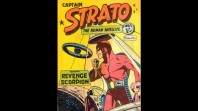 'Captain Strato the human satellite' no. 1, by John Dixon