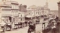 Swanston Street, 1872