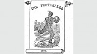Inaugural 1875 edition of 'The Footballer' magazine