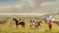 Toryboy, winner of the 1865 Melbourne Cup, by Samuel Salkeld Knights, 1865