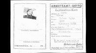 Work identity card for Ester Wiener