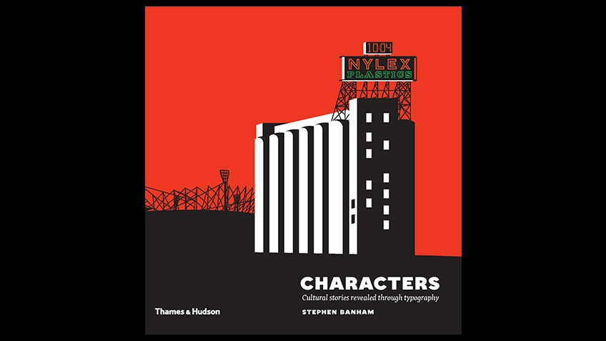 Cover of Characters: cultural stories revealed through typography