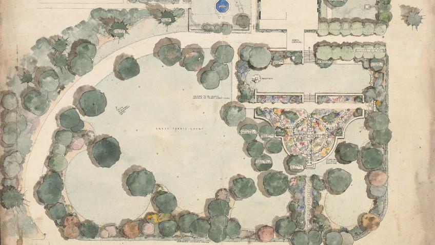 Garden design landscape architecture state library for Landscape design victoria