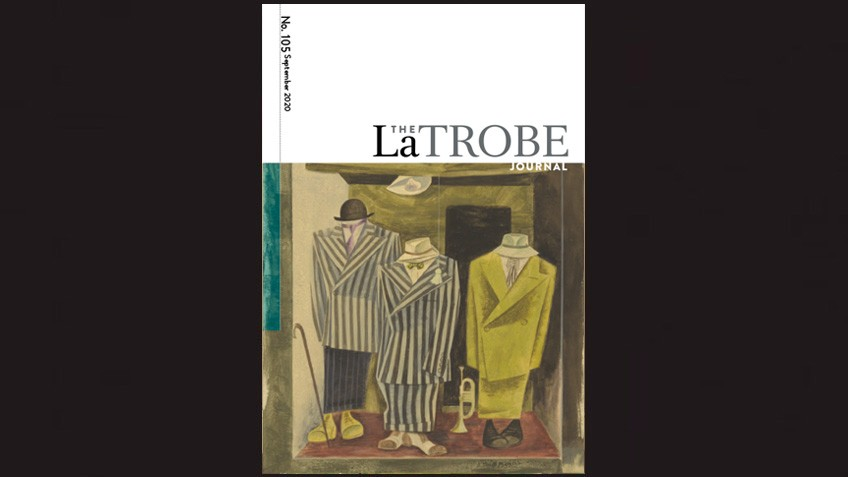 Front cover image of La Trobe Journal 104
