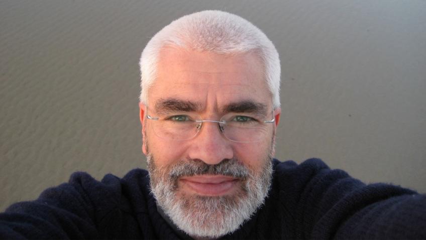 Closeup of a man's face