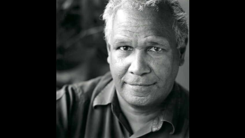 Portrait of poet Boori Monty Pryor, by Susan Gordon-Brown, 2003